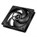 Ventilator za kućište Arctic P12 PWM, 12cm, 4 pin, black/black, ACFAN00119A