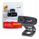 Web Camera Genius Facecam 1000X V2,720p 30fps, Built-in microphone, USB 2.0, Black