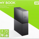 "HDD External 8 TB Western Digital MY BOOK WDBBGB0080HBK-EESN, USB 3.0, 3.5"", black"