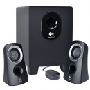 Zvučnici LOGITECH Z313, 2.1, Total RMS power: 25 watts, crni