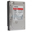 HDD 2TB TOSHIBA HDWD220UZSVA, P300, 128MB, 5400 rpm, SMR, SATA 3