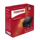HDD External 3TB TOSHIBA Canvio Desk HDWC330EK3J, USB 3.0, 3.5″, black
