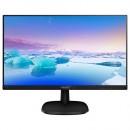 """Monitor 23.8"""" PHILIPS 243V7QDSB/00, IPS, 16:9, FHD, 5 ms, VGA, DVI-D, HDMI, slim edges"""