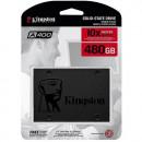 SSD 480GB KINGSTON A400, SA400S37/480G, SATA III, 500/450 MB/s