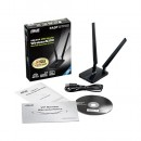 Wireless USB Adapter ASUS USB-N14, 2x5dBi internal, Up to 300Mbps, 10 X signal coverage
