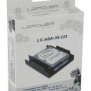 "Adapter (bracket) za ugradnju HDD/SSD-a u kućište, LC POWER LC-ADA-35-225, 2.5˝ na 3.5"", plastic"