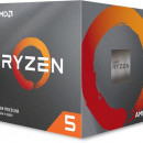 CPU AMD Ryzen 5 3600XT, 3.8 GHz (4.5 GHz), 6 Cores, 32MB L3 Cache, 7nm, 95W, AMD Wraith Spire cooler, AM4