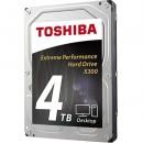 HDD 4TB TOSHIBA HDWE140UZSVA, X300 series, 128MB, 7200 rpm, SATA 3