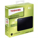 "HDD External 4TB TOSHIBA Canvio Basic, HDTB440EK3CA, 2.5"", black, USB 3.2 Gen 1 (USB 2.0 compatible)"