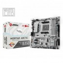 MB MSI B350M MORTAR ARCTIC, AMD B350, 4x DDR4, AM4, mATX