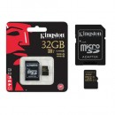 Memorijska kartica 32GB Kingston SDCA10/32GB, class 10, 90 / 45 MB/s, UHS-I, microSDHC
