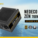 Napajanje 700W ANTEC NE700G ZEN, NEO ECO GOLD, 80+ Gold, 12cm silent fan, Active PFC, up to 92% efficient