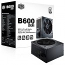 Napajanje COOLER MASTER 600W, B600 VER.2 series, RS-600-ACABB1-EU, 12cm fan, Efficiency >85%, RS-600-ACAB-B1