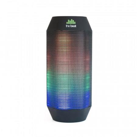 Boxa Bluetooth THE BEAT 400 LED neagra - Produs Resigilat