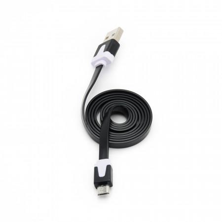 Cablu USB - microUSB E-Boda CML 100 negru - Produs Resigilat