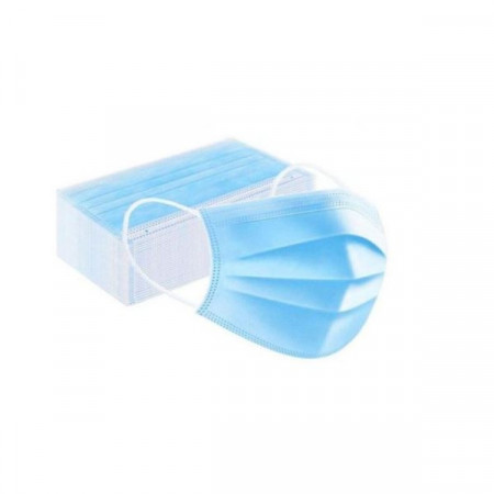 Set 20 buc, masca medicala de protectie pentru copii - Baieti, de unica folosinta