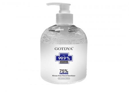 Gel igienizant GOTDYA- 500 ML, 75% Alcool