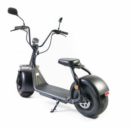 Moped Electric FreeWheel City Rider Negru Autonomie 40-60 km Viteza 40 km/h Motor de 1000W Brushless