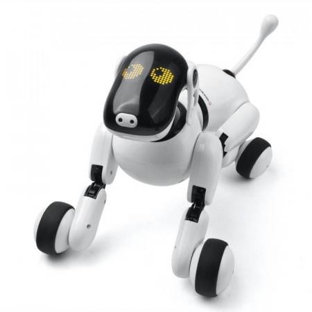 Robot Catel Interactiv Smart Dog Puppy Go, control vocal RESIGILAT