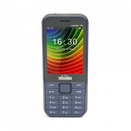 Telefon Mobil Freeman Speak T301 - Display TFT Dual Sim Camera Bluetooth Albastru - Produs Resigilat