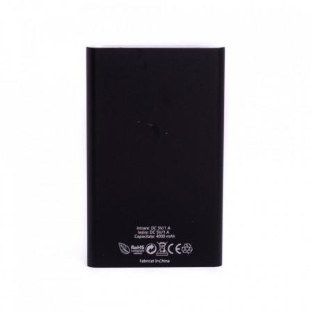 Baterie externa Power 230 E-Boda 4000 mAh - negru - Produs resigilat