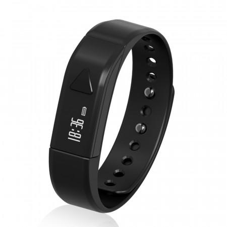 Bratara Bluetooth SmartFitness 101 neagra - produs resigilat