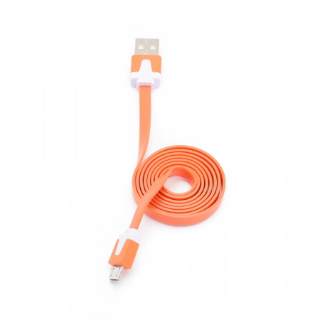 Cablu USB - microUSB E-Boda CML 100 portocaliu - Produs Resigilat