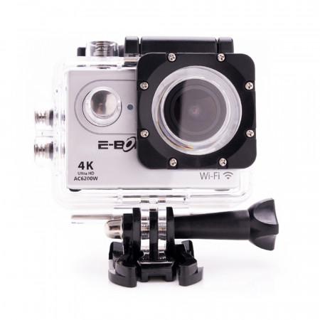 Camera Video Sport E-Boda AC6200W - 4K Ultra HD Wi-Fi 2 inch LCD MicroSD HDMI Rezistenta la apa - 20 Accesorii incluse