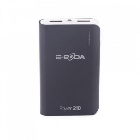 Baterie externa Power 210 E-Boda dualpower 6000 mAh - negru - Produs resigilat