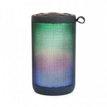 Boxa Bluetooth THE BEAT 300 LED - Neagra Baterie 1200mAh Autonomia 3-4 ore - Produs Resigilat