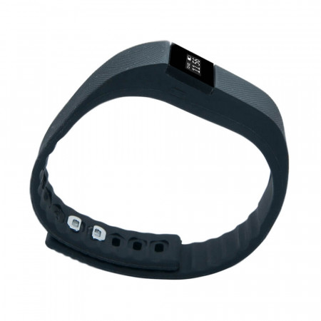Bratara Bluetooth SmartFitness 100 neagra - Produs resigilat