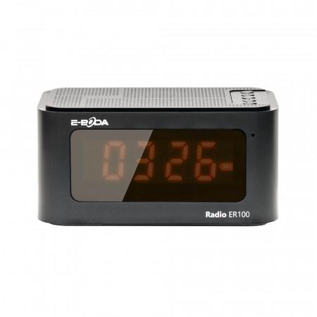 Radio cu ceas digital E-Boda ER 100 - Multifunctional 6 in 1 Negru - Produs Resigilat