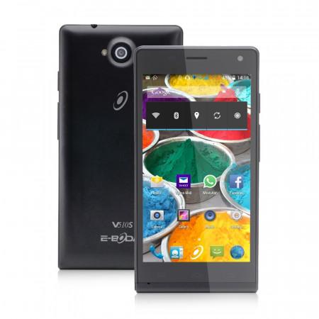 """Smartphone Android 5"""" E-Boda Storm V510S Dual SIM negru - produs resigilat"""