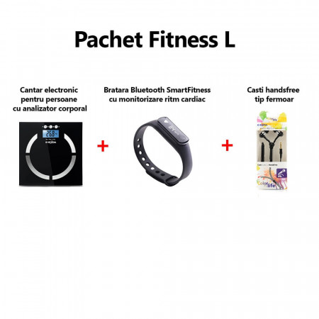 Pachet accesorii fitness L