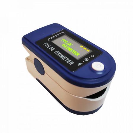 Pulsoximetru digital E-boda OX100, aparat de masurare saturatia de oxigen din sange, baterii incluse