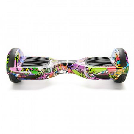 Scooter electric (hoverboard) Freewheel F1 - Graffiti mov - Produs Resigilat