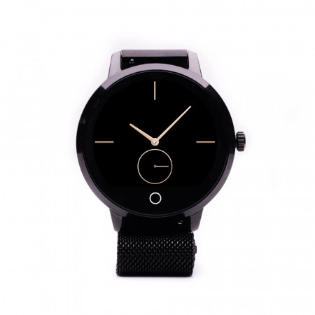 Produs Resigilat - Ceas Smartwatch E-boda STime Raven - App Anti-Pierdere Metalic Negru