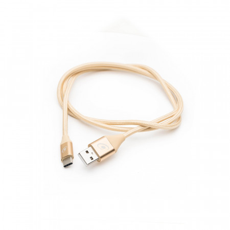 Cablu USB Tip C E-Boda USBTC 110 - auriu