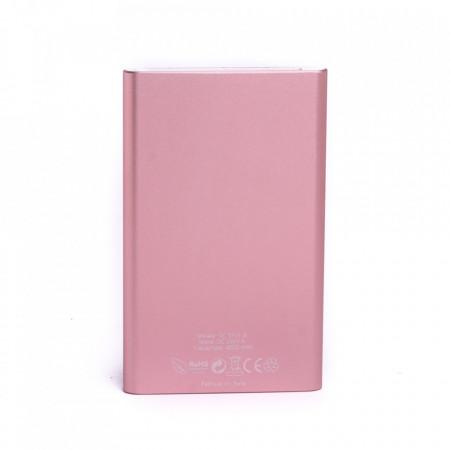 Produs resigilat - Baterie externa Power 230 E-Boda 4000 mAh - roz