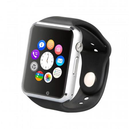 Produs Resigilat - Ceas Smartwatch E-Boda Smart Time 300 - LCD Camera Bluetooth Slot SIM Negru