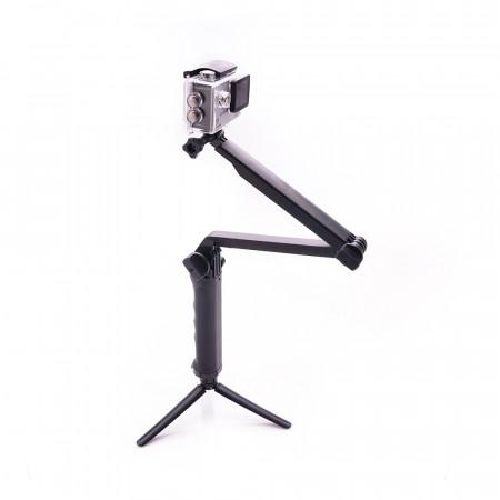 Tripod flexibil pentru camera video sport compatibil GoPro - Produs Resigilat