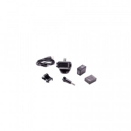 Accesoriu Camera Sport Lampa Subacvatica 3 - Bateria detasabila, Lampa LED este realizata din plastic si metal, Negru