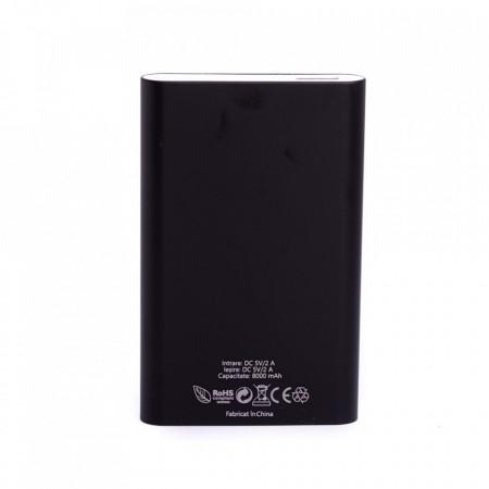 Baterie externa Power 330 E-Boda 8000 mAh - negru - Produs resigilat