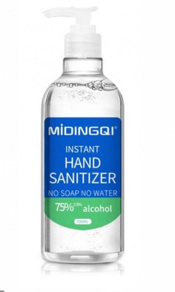 Gel igienizant MIDINGQI- 500 ml, 75% Alcool