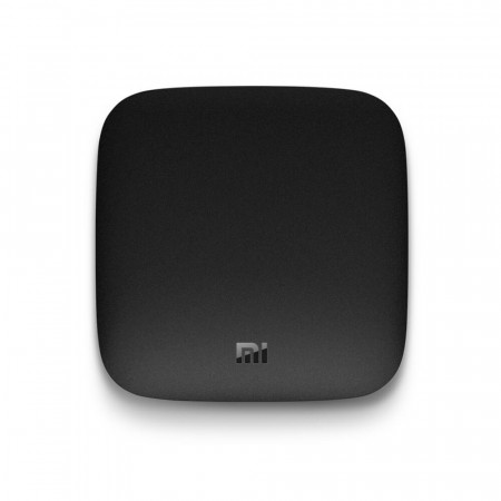 Mediaplayer XIAOMI cu Android Mi Box TV 4K Cu Control Voce, Negru