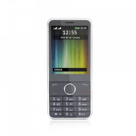 Produs resigilat - Telefon mobil barphone Freeman 2.8 inch T300 negru DUAL SIM