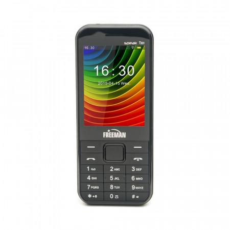 Telefon Mobil Freeman Speak T301 - Display TFT Dual Sim Camera Bluetooth Negru