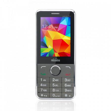 Telefon Mobil Freeman Speak T303 - Display LCD Dual SIM Camera Bluetooth Negru - Produs Resigilat