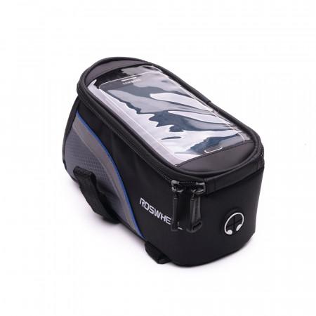 Husa suport telefon E-Boda pentru bicicleta - Negru Albastru