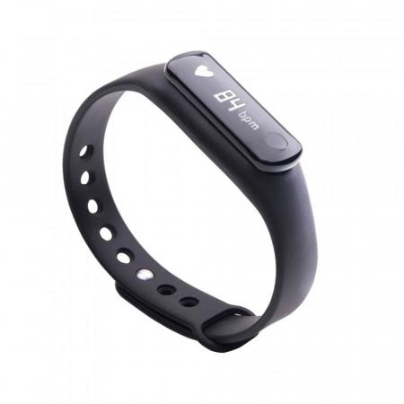 Produs resigilat - Bratara Bluetooth SmartFitness 120 HR neagra